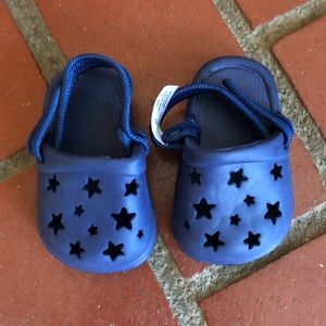 Other - Star baby Croc style shoes